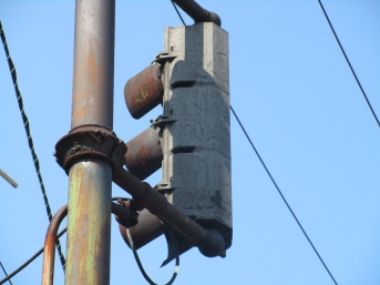 War-time Horni signal made of Bakelite in Rutherford, NJ by David Prince
