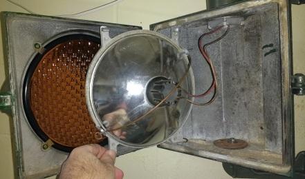 1950 PAF Marbelite Reflector