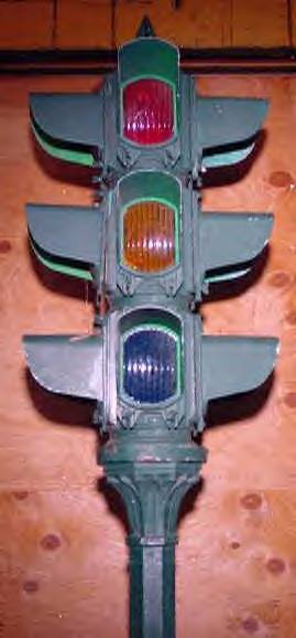 1920s Horni Signal with Squared Lenses